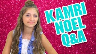 My Crush, Embarrassing Moment, and Mac & Cheese | Q&A with Kamri Noel