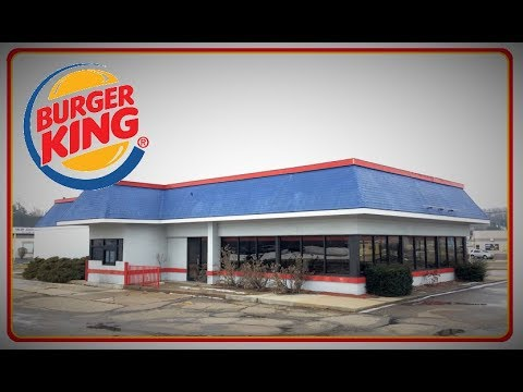 Abandoned Burger King with HUGE BK Sign Inside! - Canal Fulton Ohio