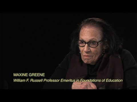 Professor Emeritus Maxine Greene