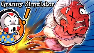 "Granny Simulator | ""GET OUT OF MY ROOM GRANNYTOONZ!"""
