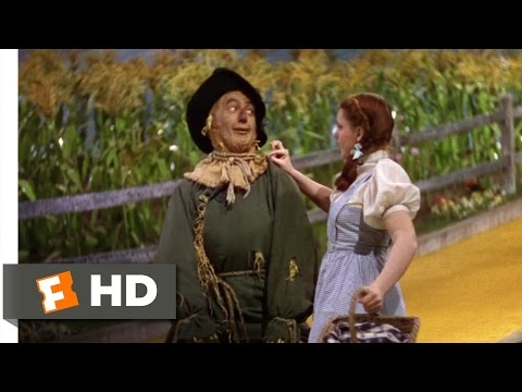 If I Only Had a Brain - The Wizard of Oz (4/8) Movie CLIP (1939) HD