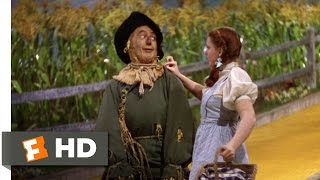 If I Only Had ain - The Wizard of Oz (4/8) Movie CLIP (1939) HD