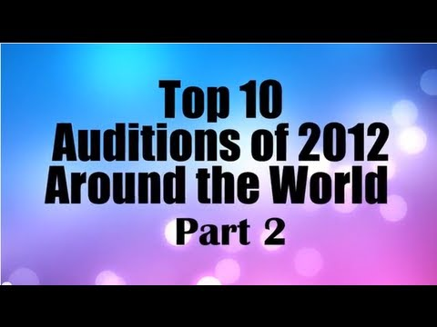 Top 10 Best First Auditions X Factor / Got Talent (USA UK/Britain) 2012 PART 2 MOST VIEWED