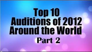 Top 10 Best First Auditions X Factor / Got Talent (USA UK/Britain) 2012 PART 2 MOST VIEWED