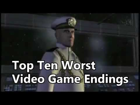 Top Ten Worst Video Game Endings (ENTER AT YOUR OWN RISK) Music Videos