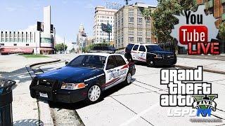 GTA 5 LSPDFR EPiSODE 127 - LET'S BE COPS - LIVE PATROL (GTA 5 PC POLICE MODS)