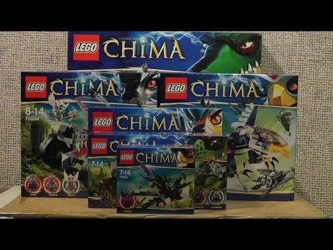 NOWOŚCI STYCZEŃ 2013 LEGO CHIMA