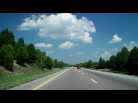 DANDRIDGE TN to JOHNSON CITY TN Time Lapse I-81 I-26  08/08/10