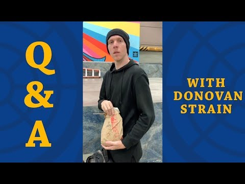 Q&A with Donovan Strain