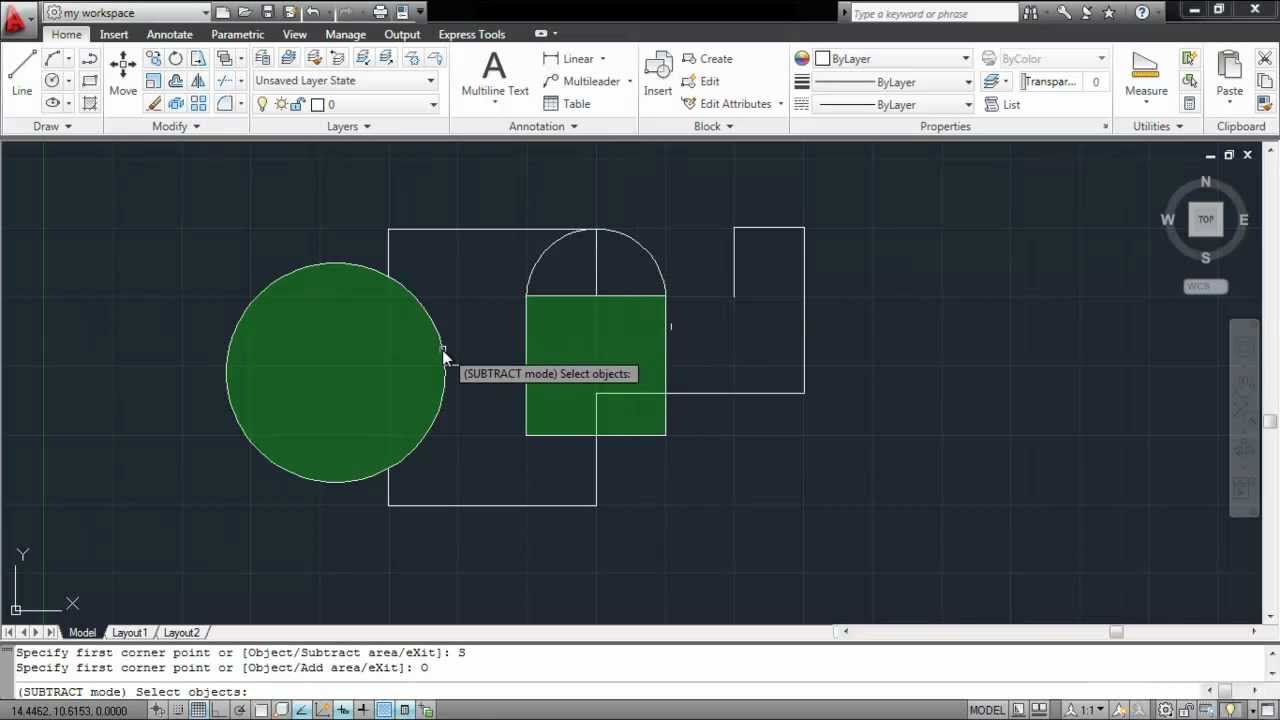 How To Calculate The Area In Autocad Youtube