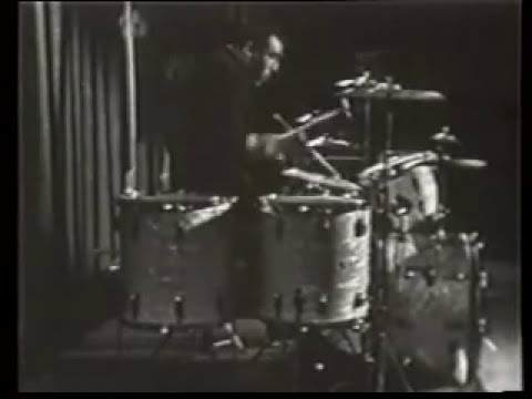 Buddy Rich & Jerry Lewis - Drum Solo Battle