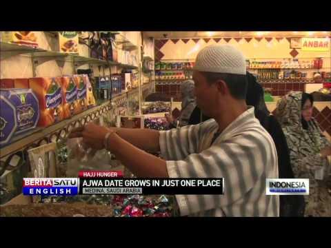 Hajj Pilgrims Stop for Famed Saudi Arabia Dates