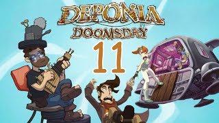 Zagrajmy w Deponia Doomsday #11 Męska sauna