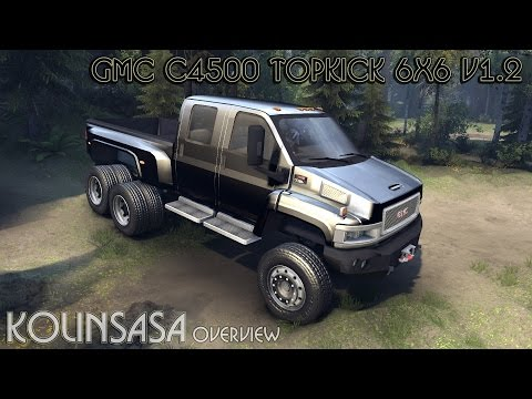 GMC C4500 TopKick 6x6 v1.2