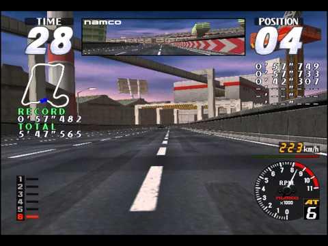 Rave Racer Japanese version on viva nonno v22.0.3