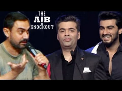 Aamir Khan's SHOCKING REACTION on AIB Knockout CONTROVERSY | UNCUT VIDEO