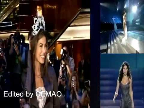 Justine Pasek ( Panama ), Miss Universe 2002 ( Replacement ) - Crowning Moment
