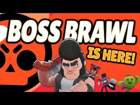 BOSS BRAWL IS HERE! First Look at Brawl Stars NEW GAME MODE
