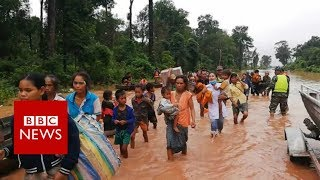 Laos dam collapse: Hundreds missing after flash floods hit villages - BBC News