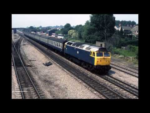 British Railways Diesels - 'The Blue Era'
