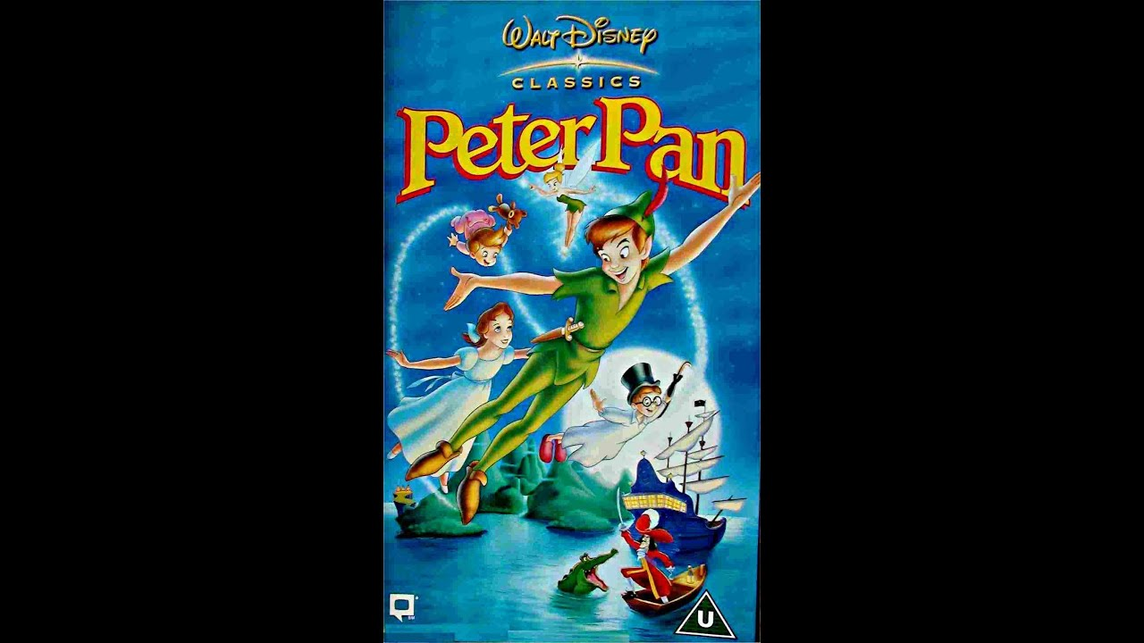 digitized opening to peter pan vhs uk youtube