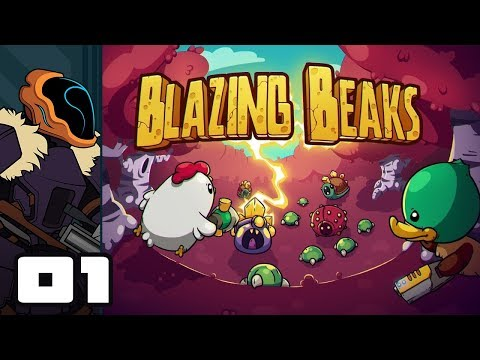 Let's Play Blazing Beaks - PC Gameplay Part 1 - Risk Vs Reward Vs Platypus