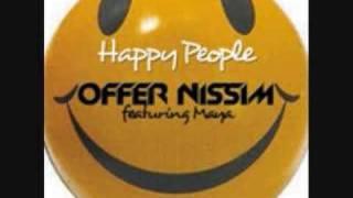Offer Nissim Feat. Maya - Happy People - Original Club Mix