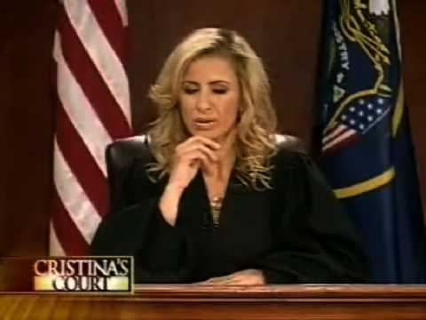 Janice Dickinson in Cristina's Court Pt 1