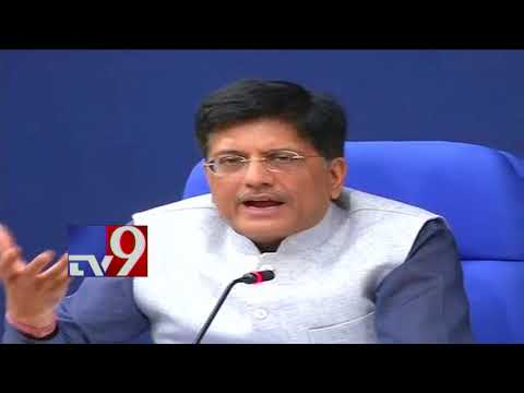 Major rejig in PM Modi's Cabinet - Piyush Goyal to take over Finance Ministry - TV9