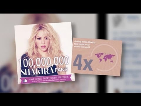 Shakira Becomes the Most Liked Celebrity on Facebook | Splash News TV | Splash News TV