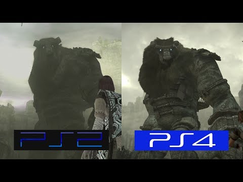 Shadow Of The Colossus | PS2 VS PS4 | GRAPHICS COMPARISON | Comparativa