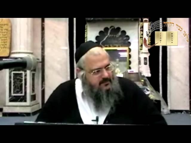 הרב שלמה לוינשטיין שליט''א - ''תצוה _ זכור'' תשע''ב