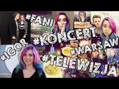 DAILY VLOG #4 - telewizja, Warszawa, Gerard Way!
