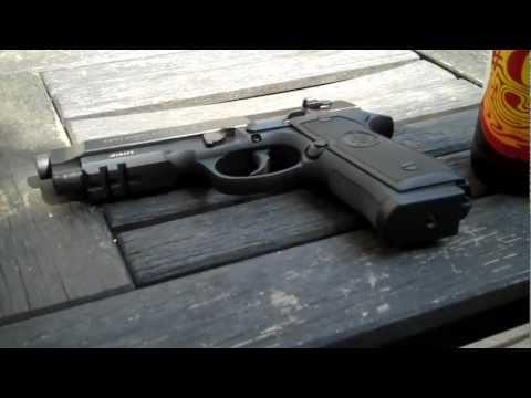 Beretta 92A1.  First impressions