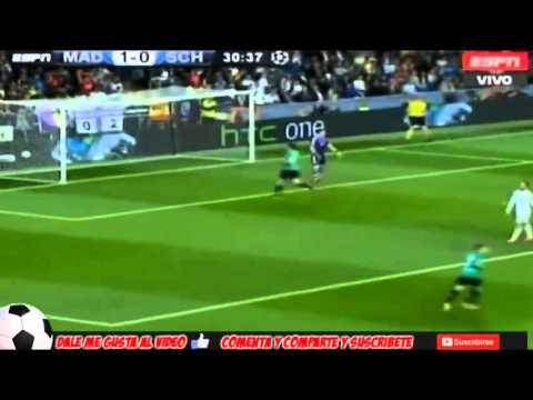 Real Madrid Vs Schalke 04 3 - 1  All Highlights Champions League 18.03.2014