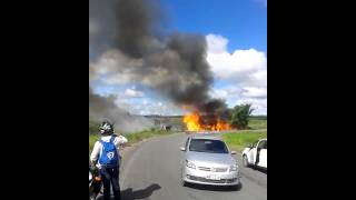 Acidente de trânsito deixa 5 feridos na PB-032