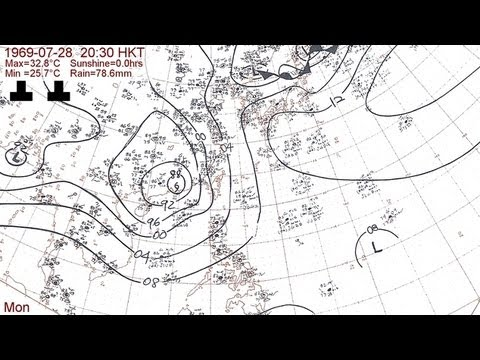 The 1969 typhoon season with Hong Kong daily weather summaries