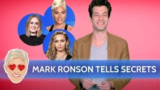 Mark Ronson Tells Secrets About Miley, Gaga, Adele, and More
