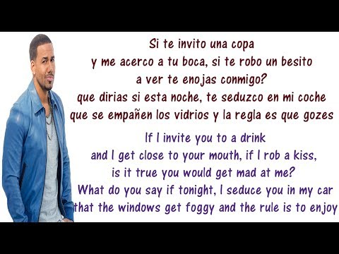 Romeo Santos - Propuesta Indecente - Lyrics English and Spanish - Indecent Proposal - Translation