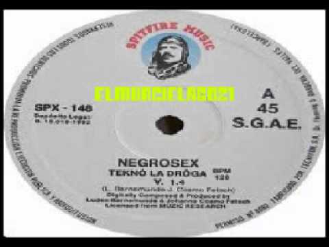 Negro Sex - Techno La Droga  1991 video