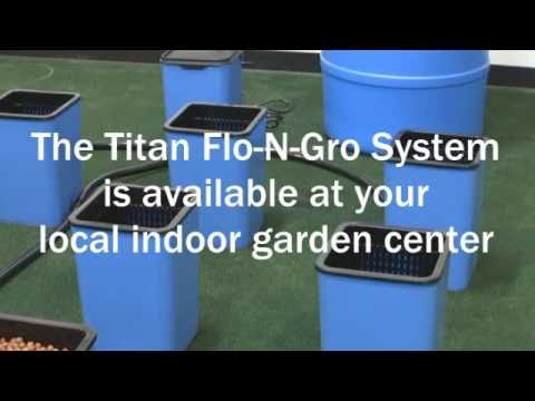 Sunlight Supply Presents: Flo-N-Gro 12 Site Ebb and Flow Assembly Video