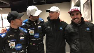Rolex 24 At DAYTONA champions have a special message!