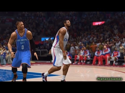 NBA Live 14 Playoffs - Oklahoma City Thunder vs Los Angeles Clippers - Game 6 - Halftime Show - HD