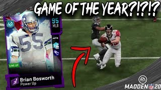 THE BOZ DEBUTS! GAME OF THE YEAR??? MADDEN 20 GAMEPLAY