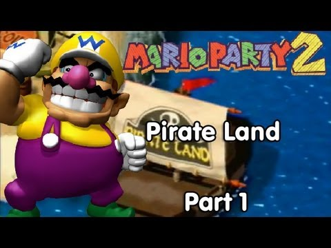 Mario Party 2! Pirate Land - Part 1