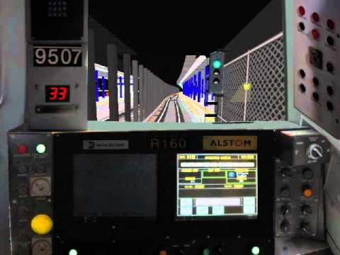 R160 - A Train with Automated Announcments [86st To w4st] OpenBVE