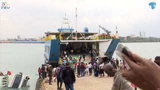 Likoni Accident: Truck carrying flour plunges into ocean at the Likoni Channel