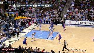 Ben Gordon 45pts vs Nuggets (2012.03.21)- 3PT: 9/9
