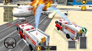 Firefighter Emergency Truck: Airplane Rescue Hero 2019 - Gameplay Android