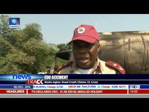 Edo Accident: Benin-Agbor Road Crash Claims 21 Lives